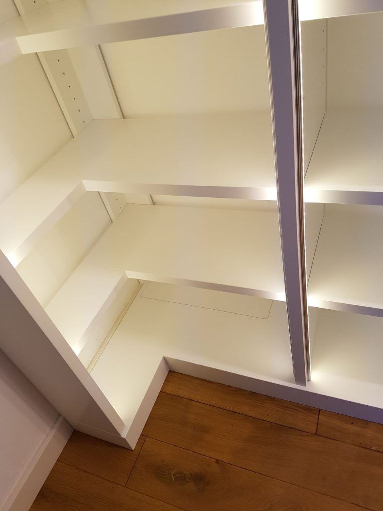 Eckdetail Bibliothek
