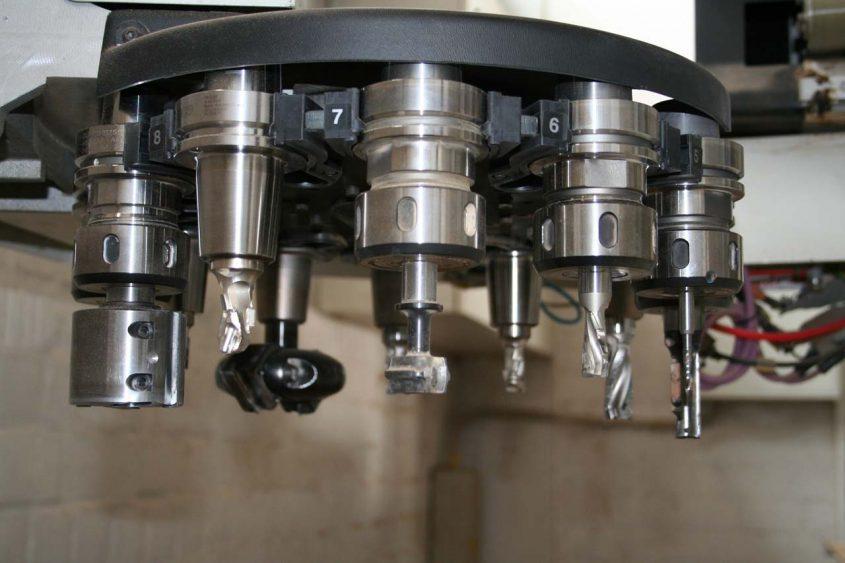 CNC Bohrer Frässatz
