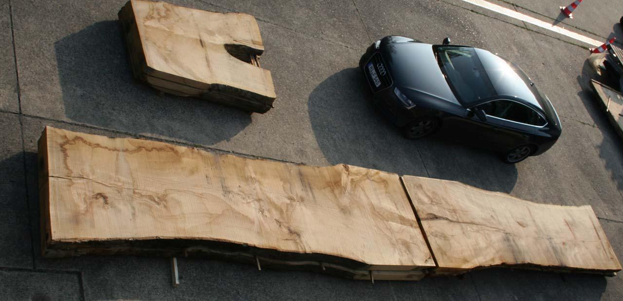 Größenvergleich Eiche XXL Und Audi