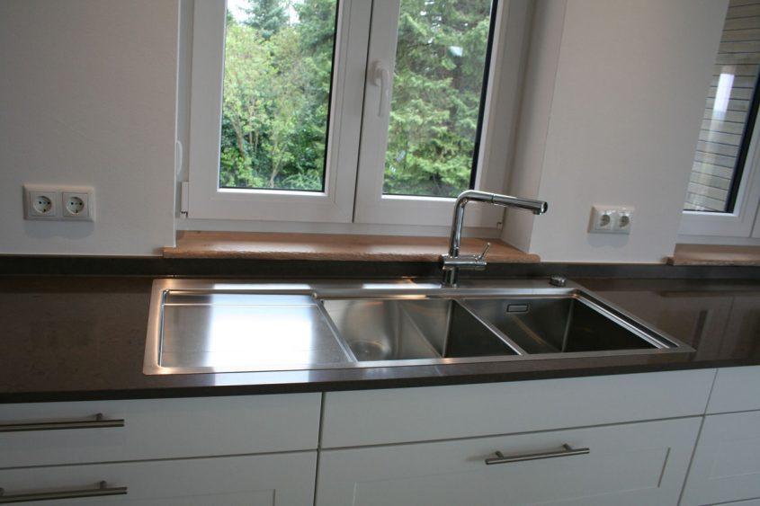 Massivholzfensterbänke Und Küchenarbeitsplatte