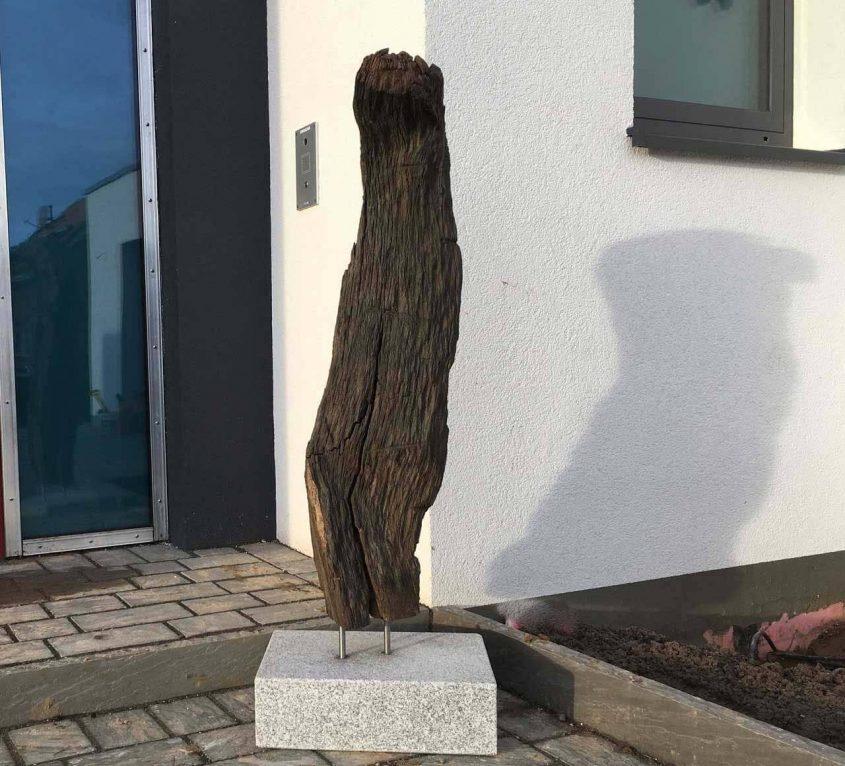 Skulptur Mooreiche
