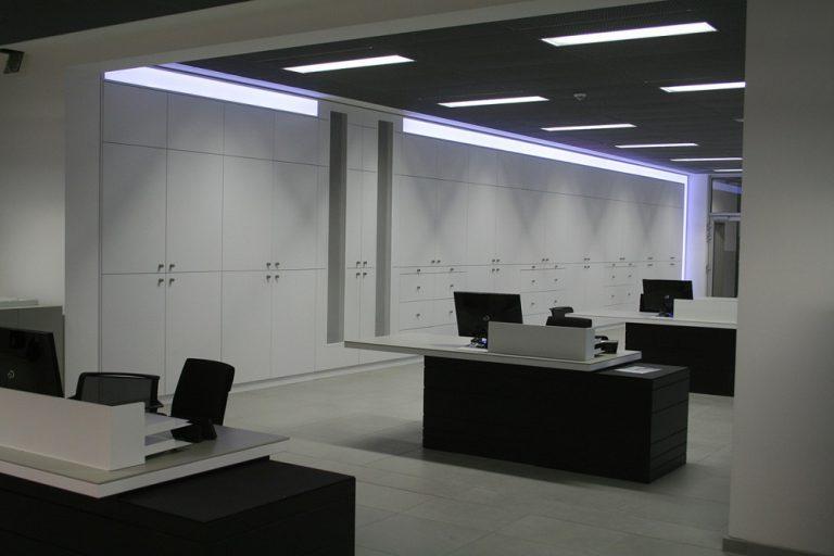 Schrankwand LED Beleuchtung