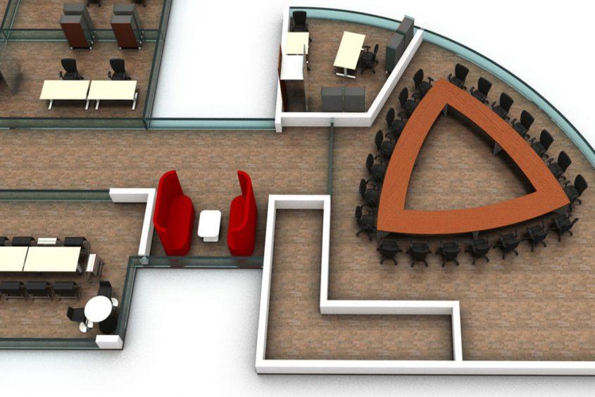 Visualisierung Projektplanung Schiff