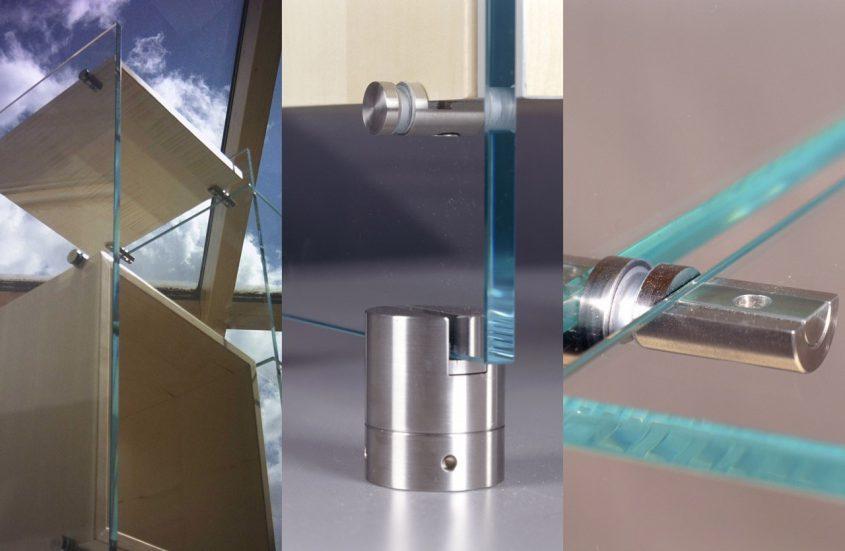 Glassideboard mit Detaillösungen