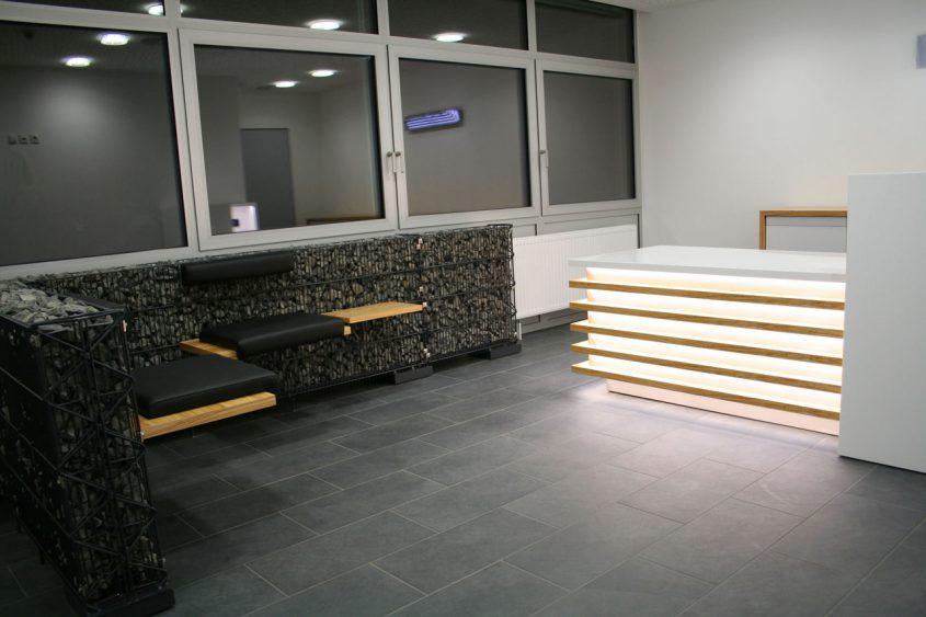 Sitzecke Lobby Empfangsbereich
